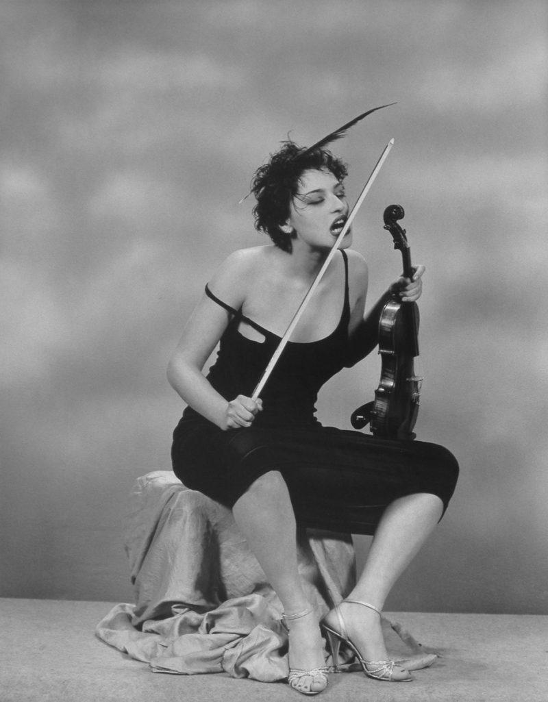 Garo Keshishian, 2009, Violinista, Stampa su carta fotografica, cm 57 x 44, es. 5/5