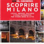 La galleria Glenda Cinquegrana: the Studio sulla guida Scoprire Milano, in allegato con IL GIORNO