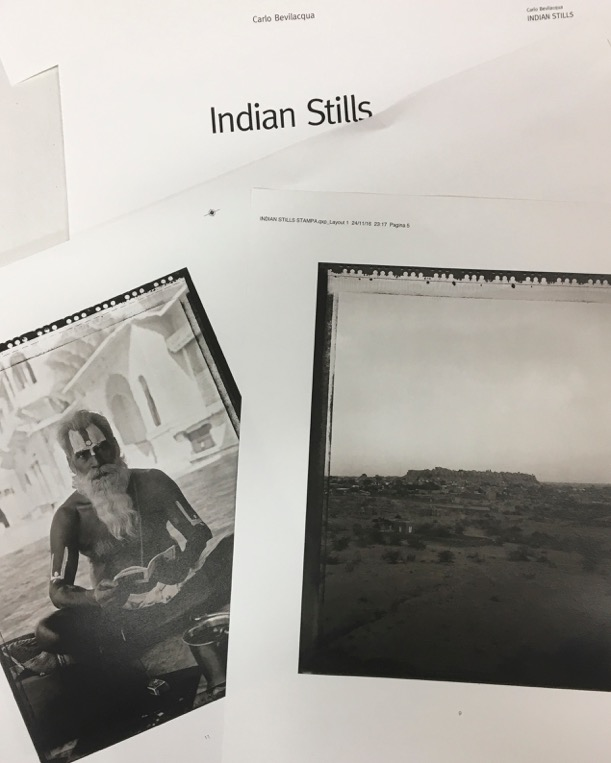 Indian Stills Photobook, by Carlo Bevilacqua, courtesy l'artista.